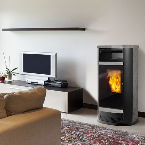 po le granul s canalisable v nus cnlz 13 2kw natur 39 chauffage. Black Bedroom Furniture Sets. Home Design Ideas