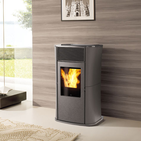 po le granul s eo2 acier 6 5kw natur 39 chauffage. Black Bedroom Furniture Sets. Home Design Ideas